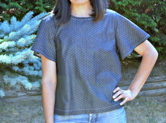 Free Sewing Pattern: Heather Top | On the Cutting Floor: Printable ...