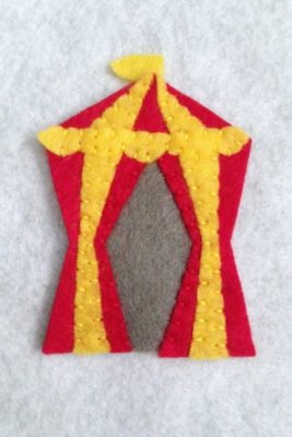 circus fp 1 - tent banner