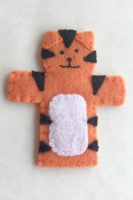tiger puppet