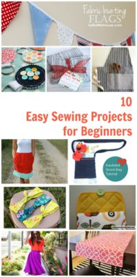 10 Easy Sewing Projects for Beginners