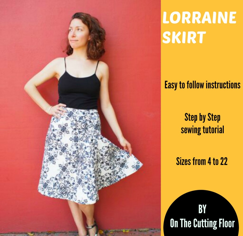 New Pattern for Sale: The Lorraine Skirt