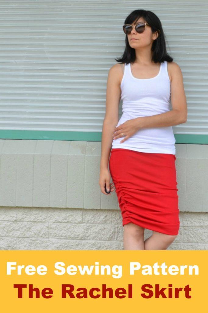 FREE SEWING PATTERN: Rachel skirt