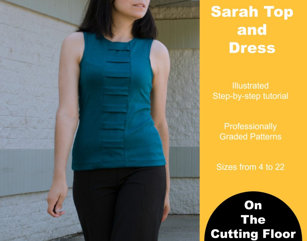 New Pattern Released: The Sarah Dress and Top