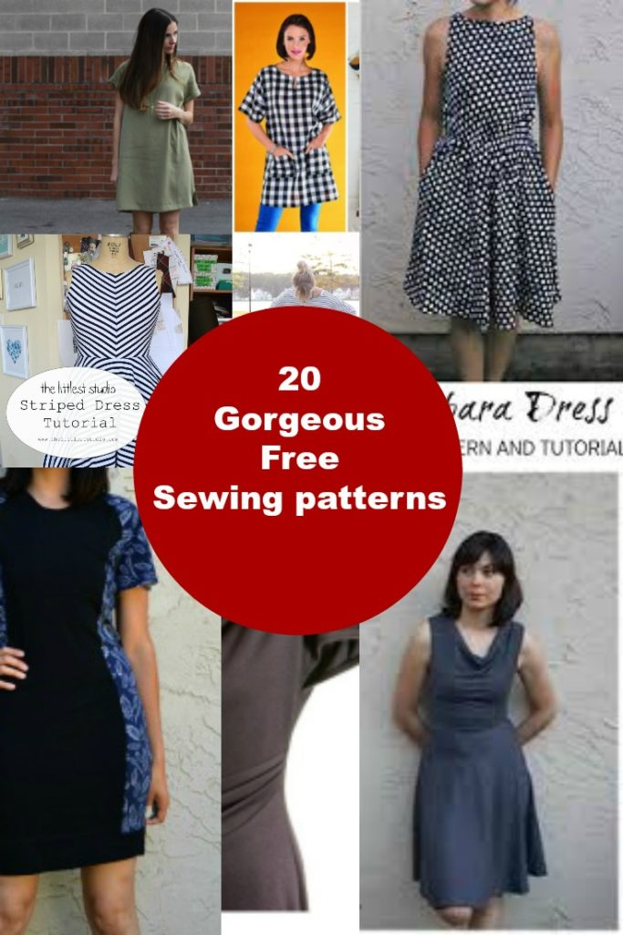 20 Gorgeous Free Dress Sewing patterns- part 3 - On the Cutting ...