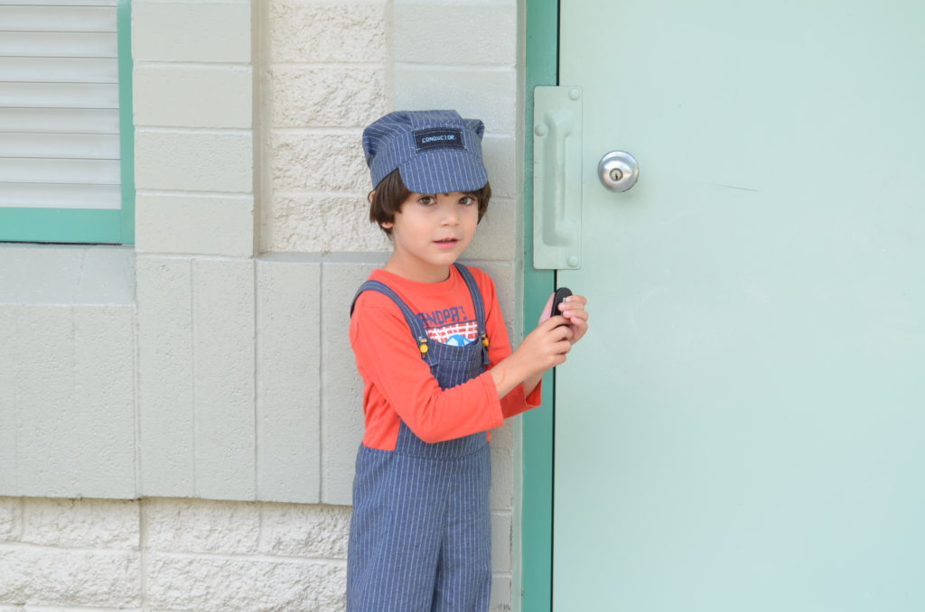 Sewing tutorial: How to make a Train Conductor Costume