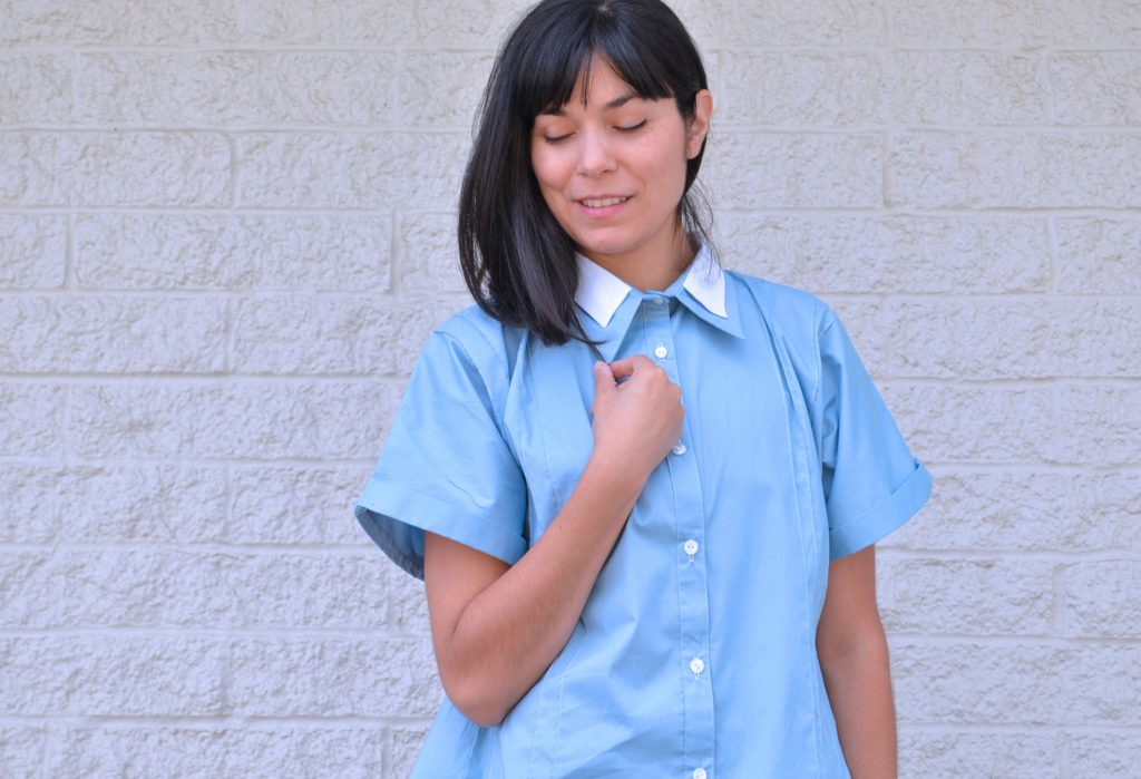 The Ashley Kimono Shirt and Dress PDF pattern