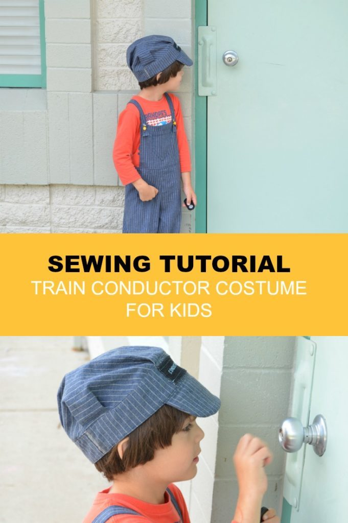 Sewing tutorial How to make a Train Conductor Costume  sc 1 st  On the Cutting Floor & Sewing tutorial: How to make a Train Conductor Costume | On the ...