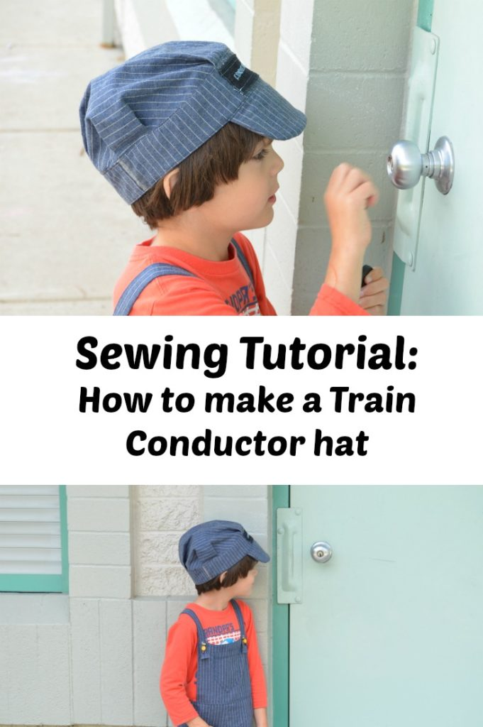 Train conductor hat tutorial