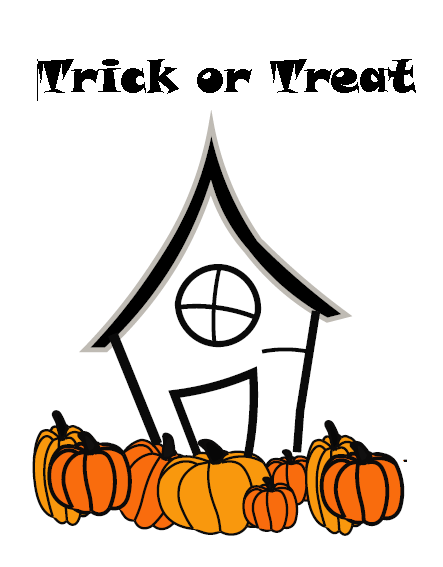 Halloween Trick or Treat Free Printable