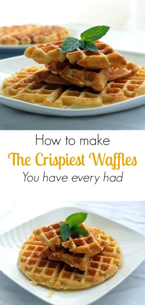 How to Make the Crispiest Waffles