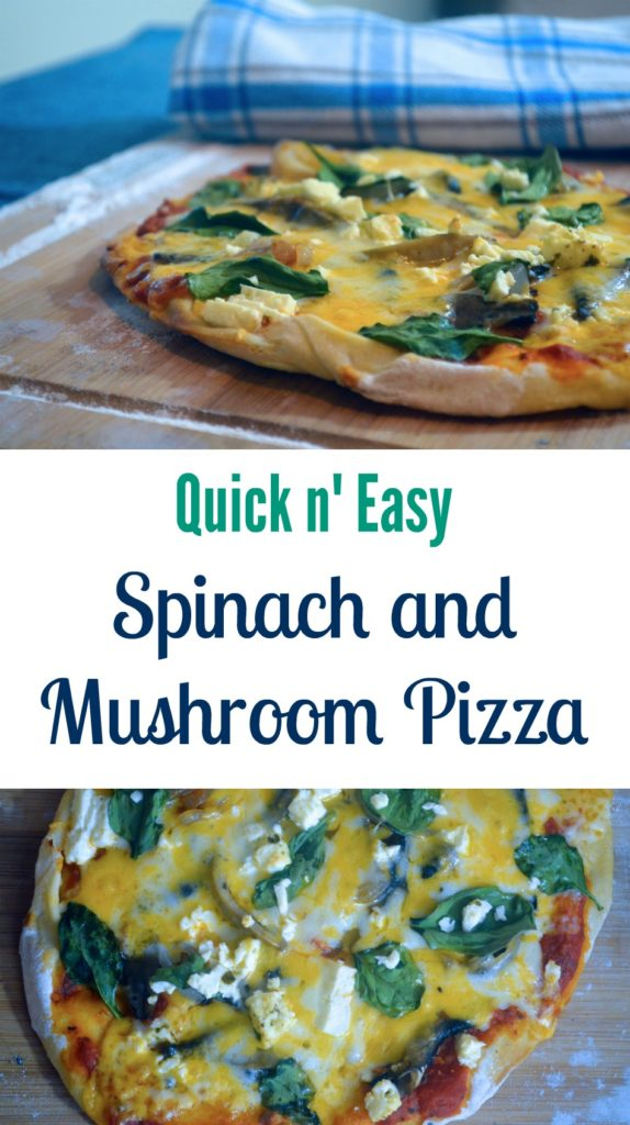 spinach-and-mushroom-pizza