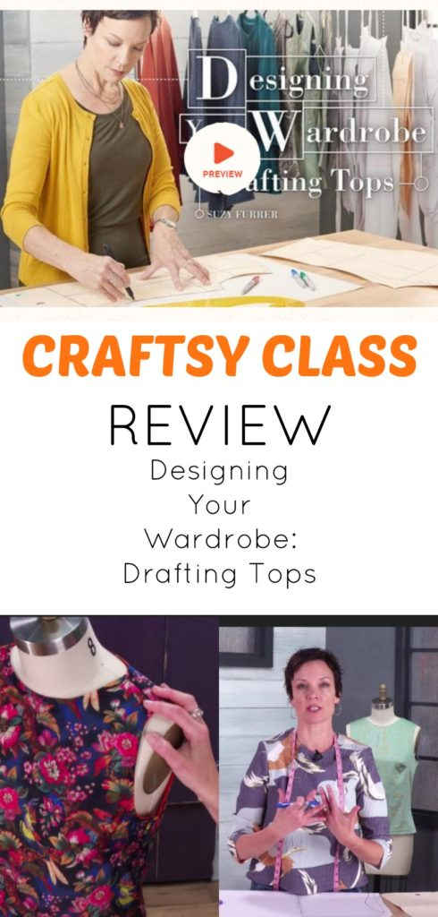 Craftsy Class Review: Designing Your Wardrobe, Drafting Tops | On ...