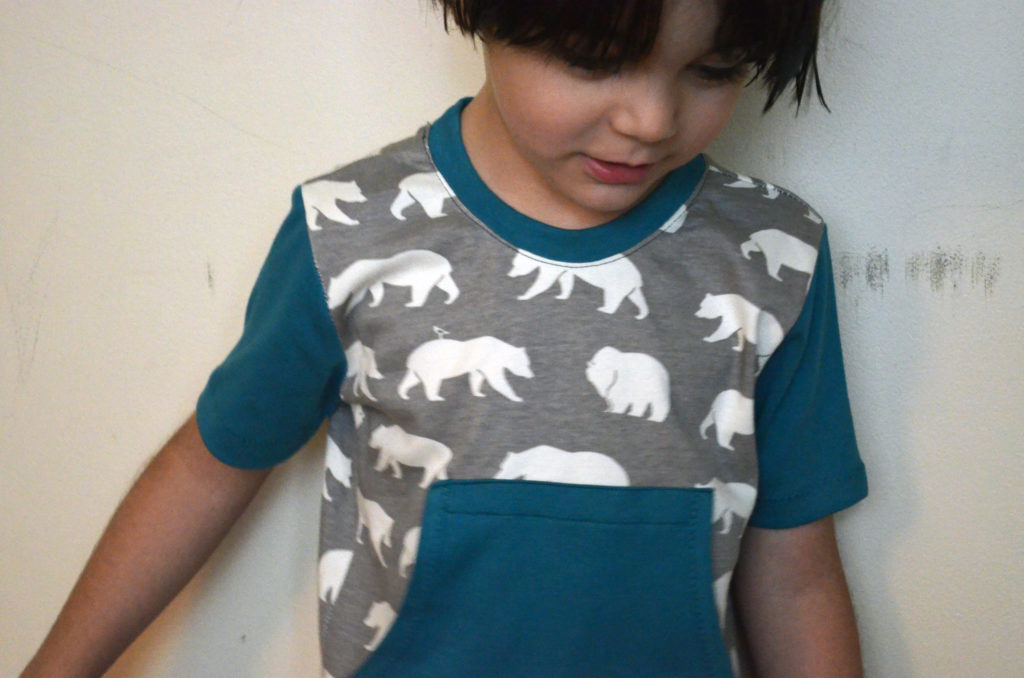 DIY Short Sleeve T-shirt With Pockets