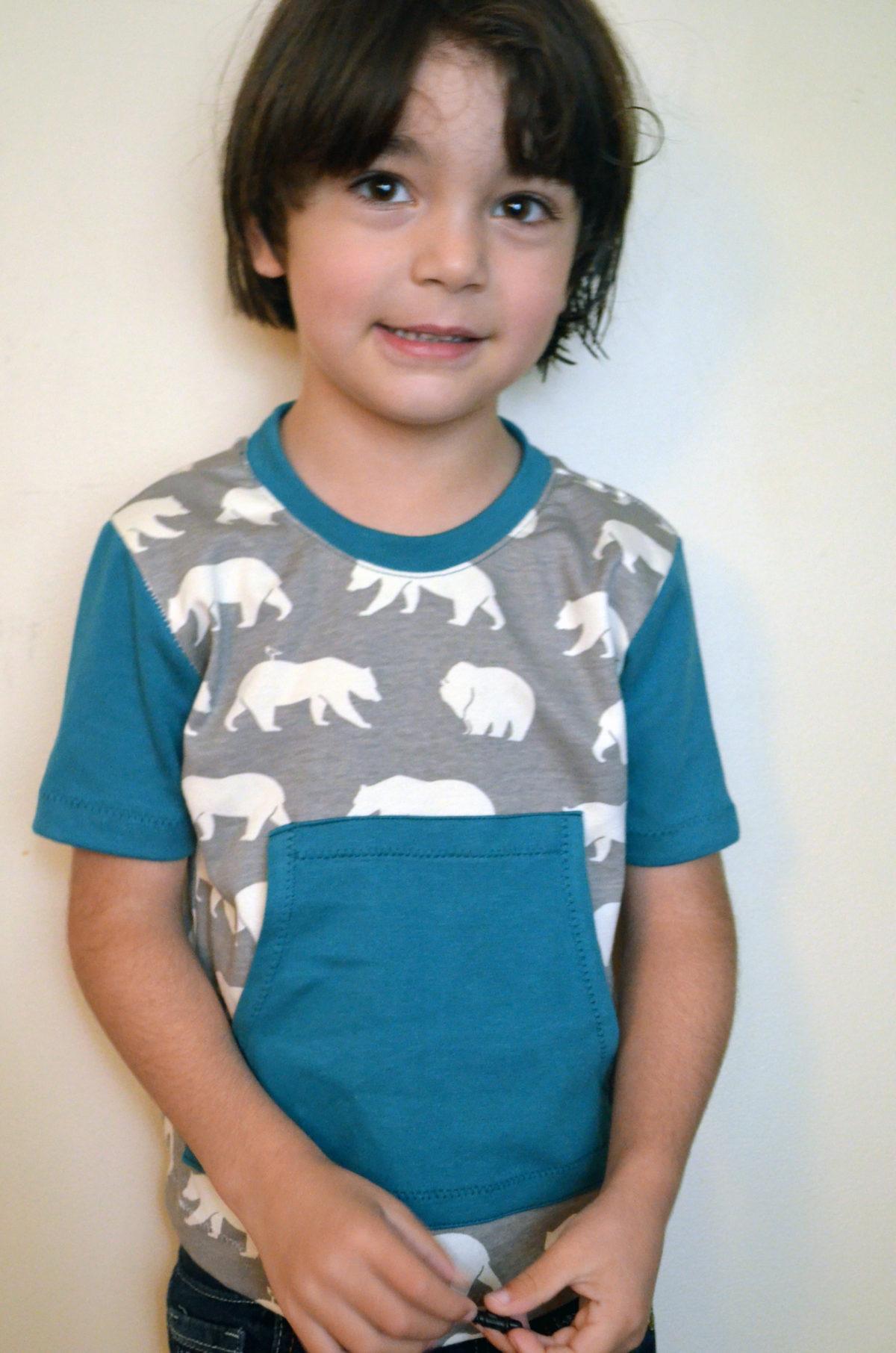 DIY Short Sleeve T-shirt With Pockets