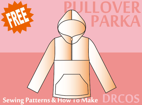 20 Hoodie Free Printable Sewing Patterns - On the Cutting Floor ...