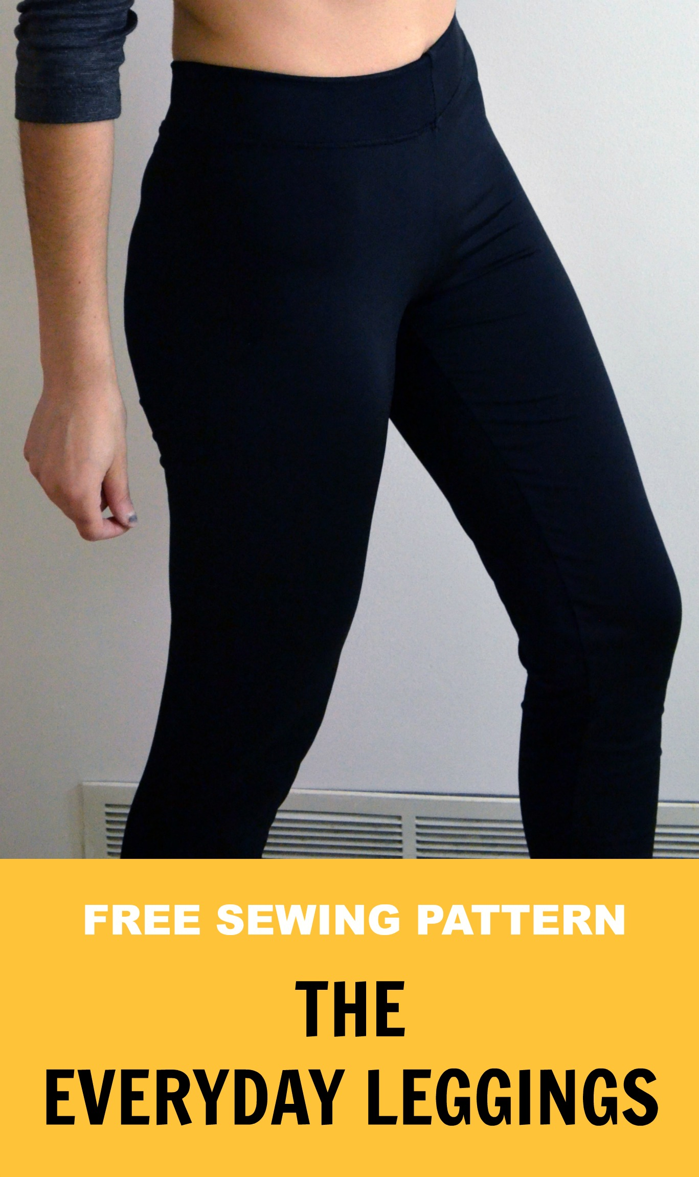 Free sewing pattern easy everyday leggings on the cutting floor free sewing pattern easy everyday leggings jeuxipadfo Image collections