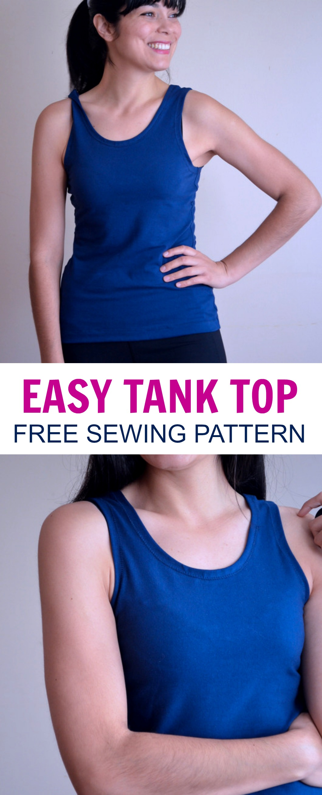 Easy tank top pattern on the cutting floor printable pdf sewing easy tank top pattern jeuxipadfo Gallery
