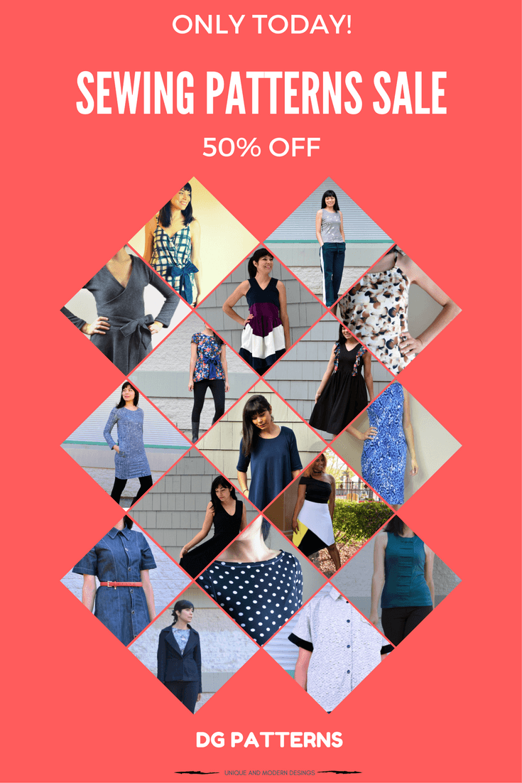 Get 50% OFF on any PDF pattern - On the Cutting Floor