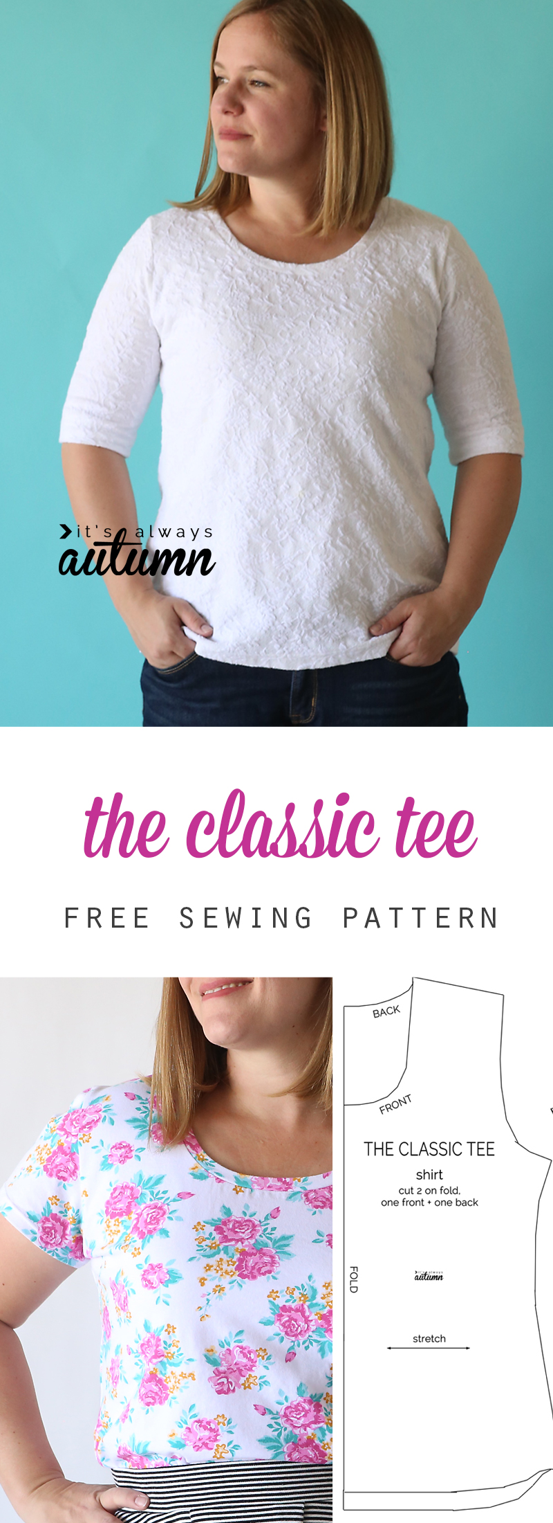 10f8fd0737a Free Sewing Patterns: 20 spring and summer tops and t-shirt ...