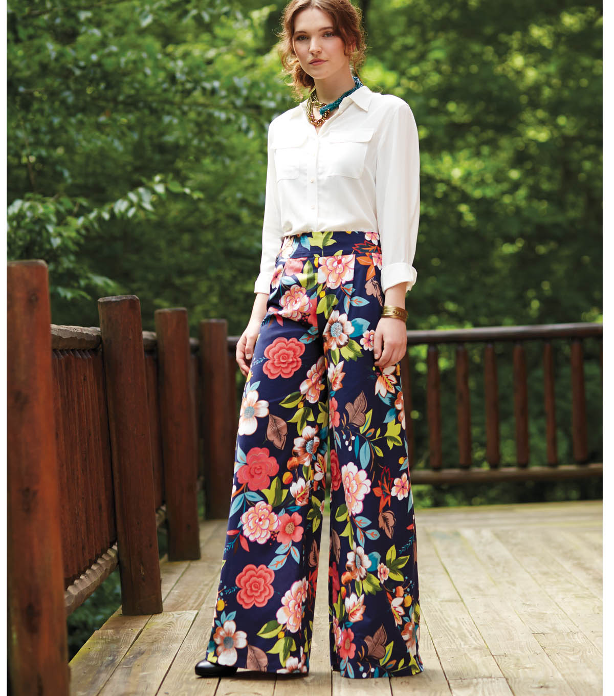 Free pattern alert 15 pants and skirts sewing tutorials on the wide leg pants pattern jeuxipadfo Images