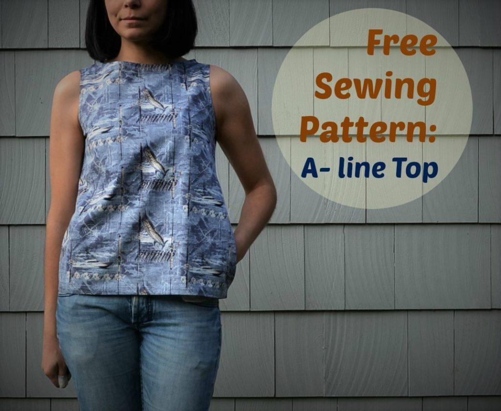 Free sewing patterns summer tops and shirts on the cutting free sewing patterns summer tops and shirts jeuxipadfo Gallery