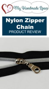 Product Review: Nylon Zipper Chain by My Handmade Space
