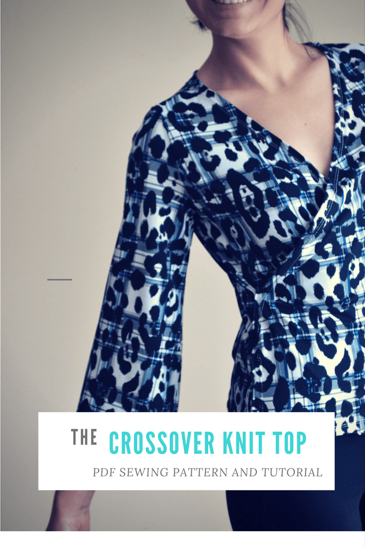Fully illustrated crossover top sewing pattern and printable fully illustrated crossover top sewing pattern and printable tutorial on the cutting floor printable pdf sewing patterns and tutorials for women on the jeuxipadfo Gallery