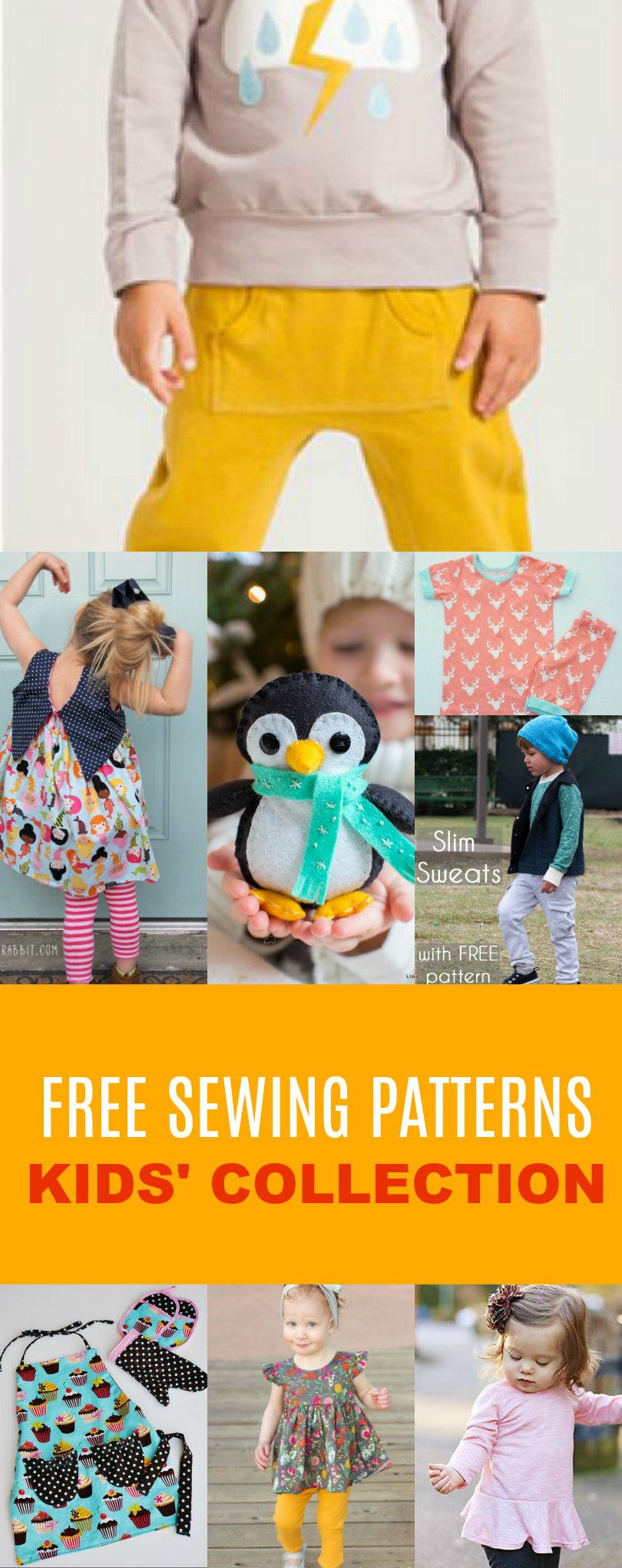 Free sewing patterns kids pattern collection on the cutting free sewing patterns kids pattern collection jeuxipadfo Images