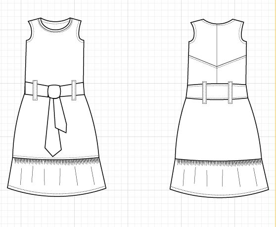 alamo technical drawing - On the Cutting Floor: Printable pdf sewing ...