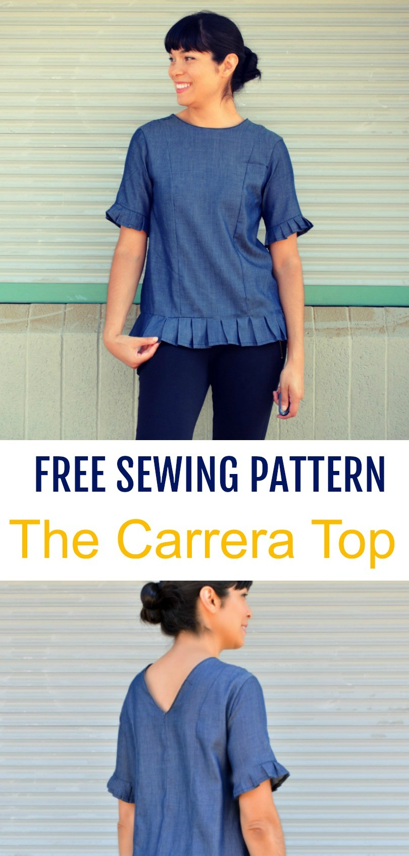 Free pattern alert the carrera top on the cutting floor free pattern alert the carrera top on the cutting floor printable pdf sewing patterns and tutorials for women jeuxipadfo Images