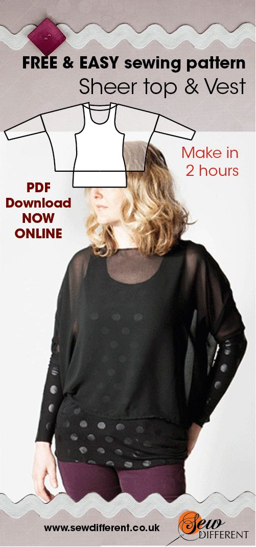 Free Pdf Sewing Patterns For Beginners Choice Image - origami ...