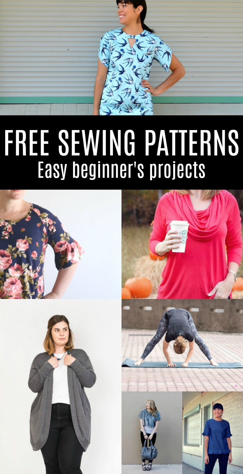 Free pattern alert 20 sewing patterns for beginners on the free pattern alert 20 sewing patterns for beginners on the cutting floor printable pdf sewing patterns and tutorials for women jeuxipadfo Gallery