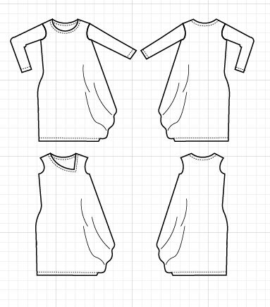pdf sewing pattern printable sewing pattern for women printable ...