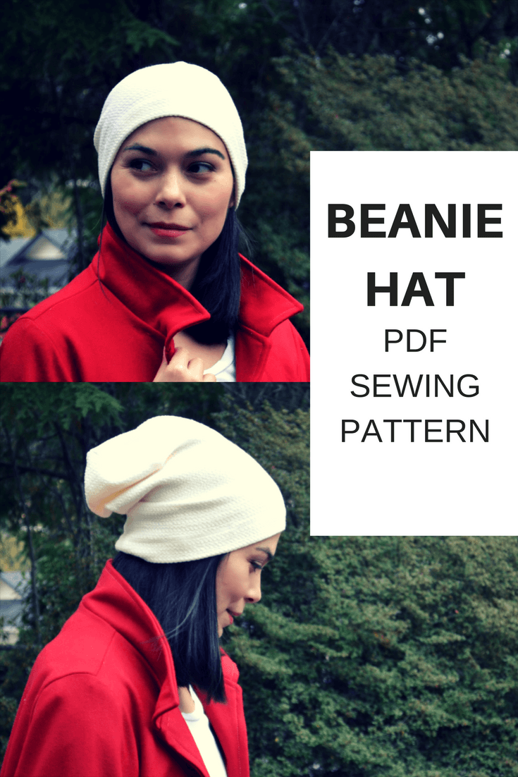 Beanie Hat Free Sewing Pattern