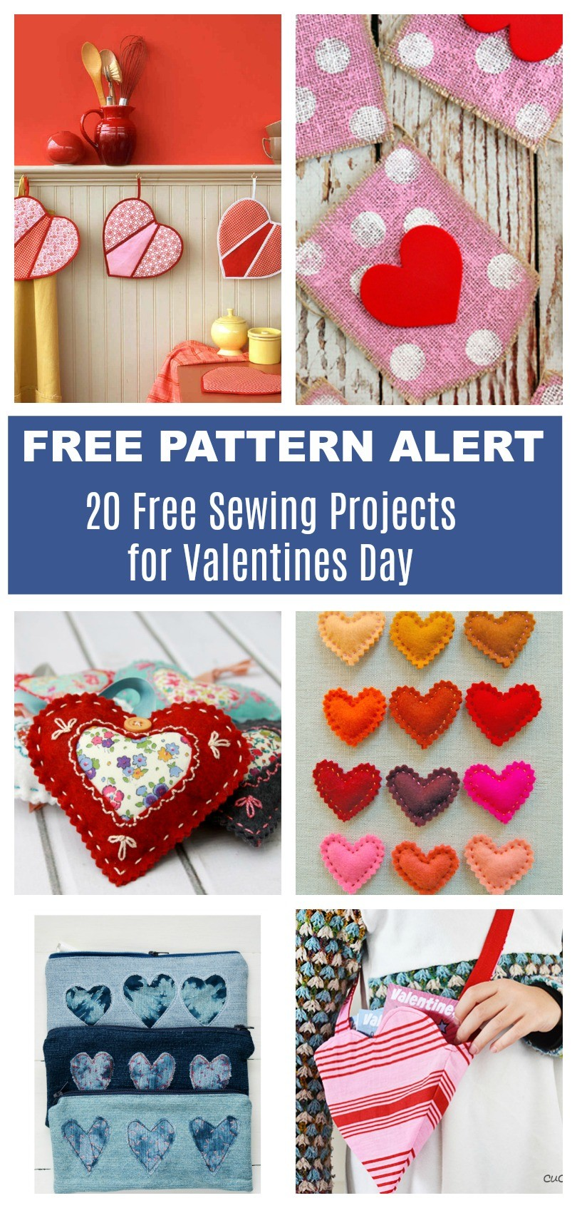 sewing valentine craft ideas free pattern alert 20 free sewing projects for valentines 5397