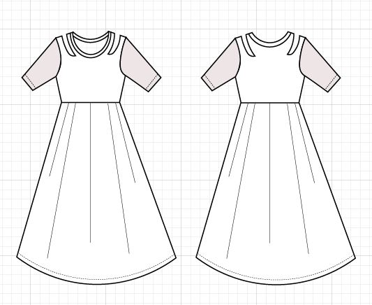 New Pattern For Sale The Wendy Dress Pdf Sewing Pattern