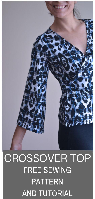 pdf sewing pattern printable sewing pattern for women printable ...