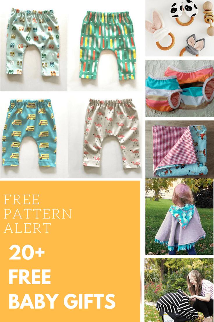 20 Free 12 Granny Square Crochet Patterns: FREE PATTERN ALERT: 20+ Free Baby Gifts Patterns!