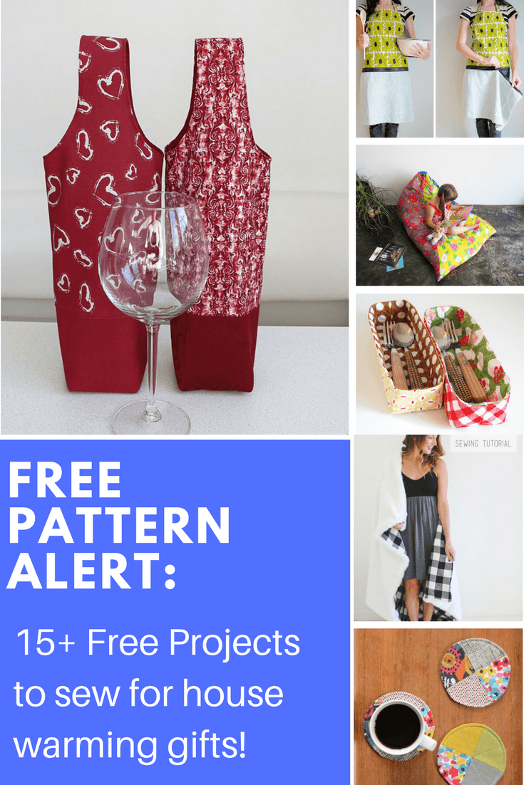 Free pattern alert 15 free projects to sew for house for Free house projects