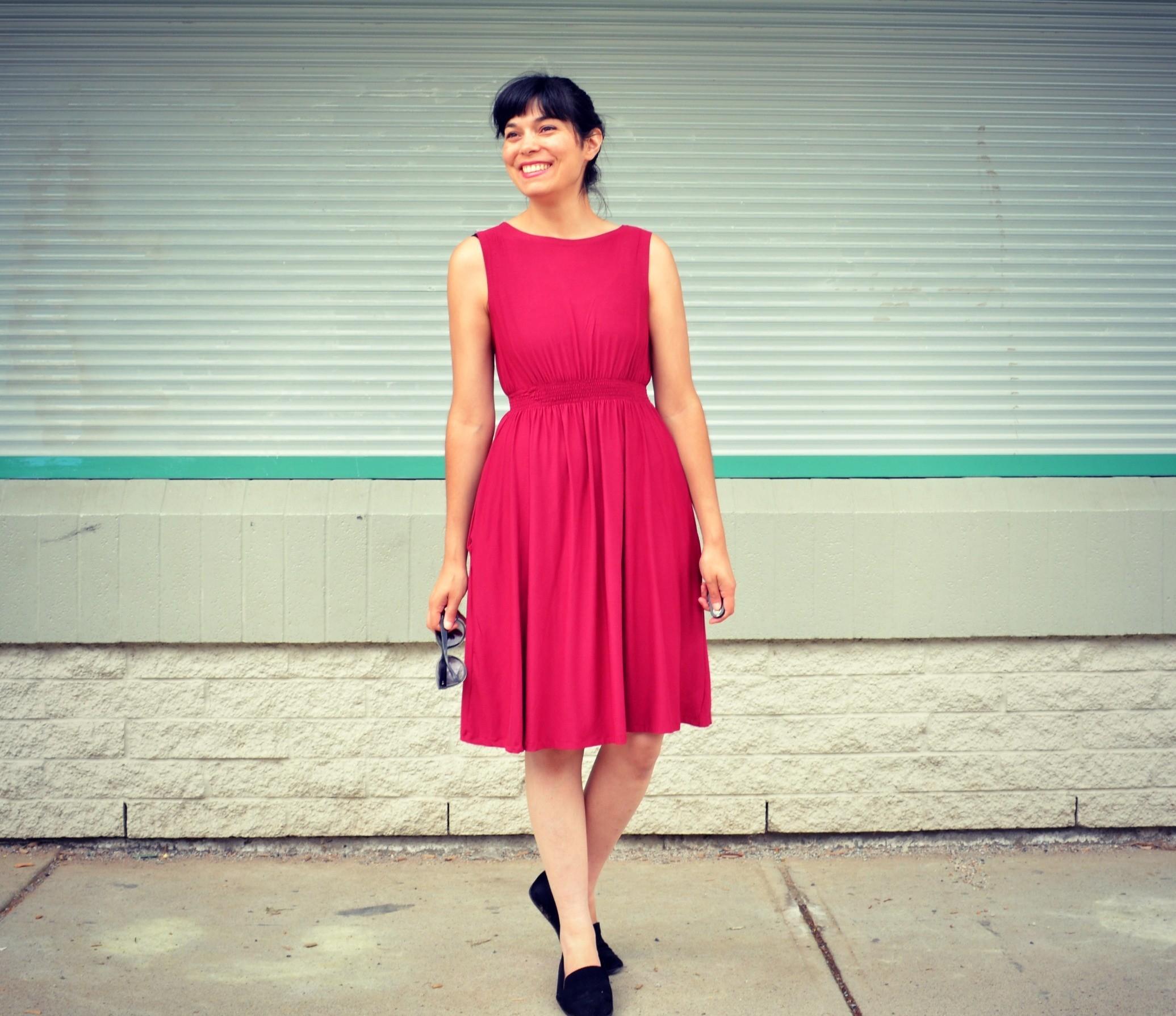 UPDATED FREE SEWING PATTERN: Barbara Dress pattern   On the Cutting ...