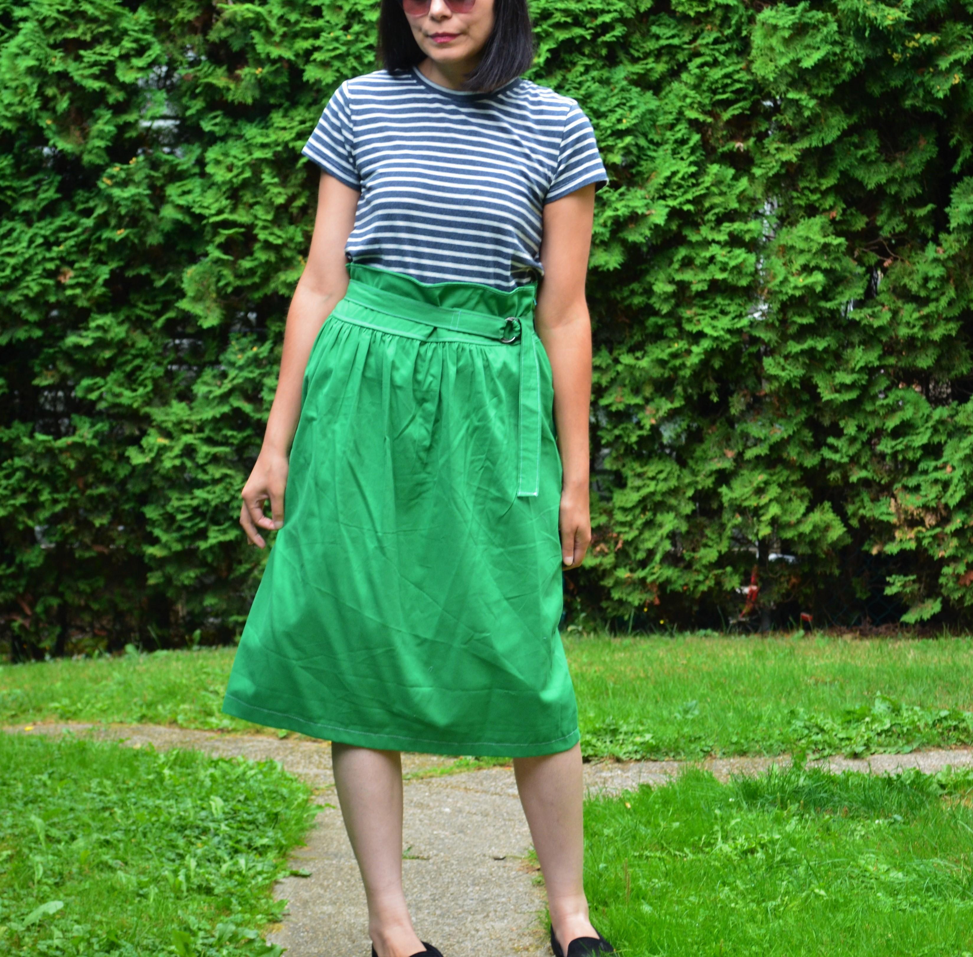 FREE PATTERN ALERT: The Paperbag Skirt