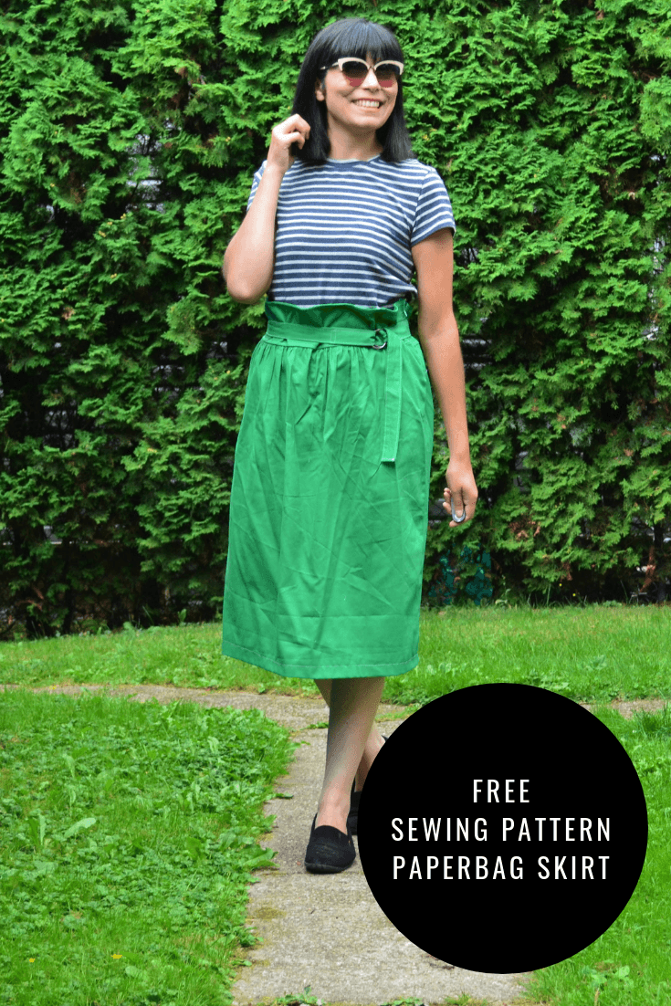FREE PATTERN ALERT: The Paperbag Skirt