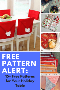 free sewing patterns for holiday christmas