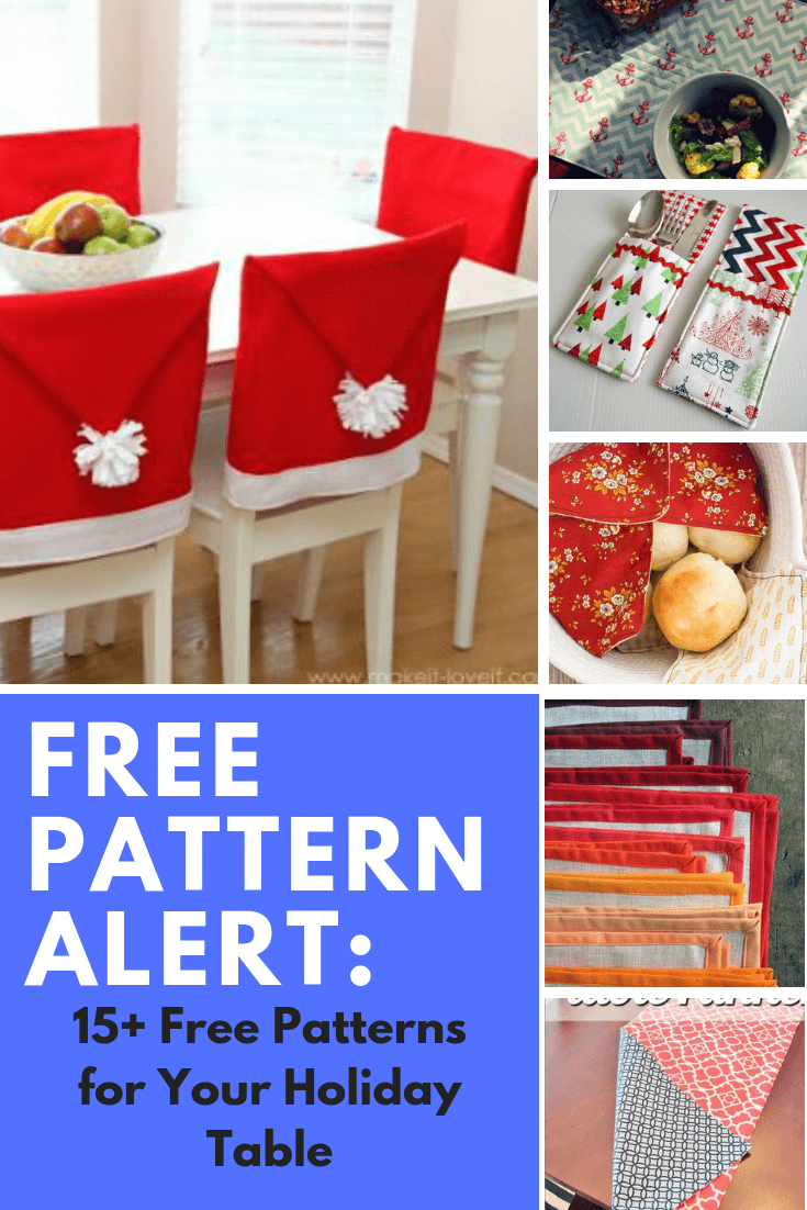 FREE PATTERN ALERT: 15+ Free Patterns for Your Holiday Table