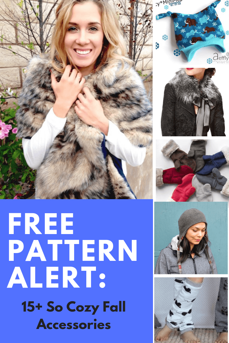 FREE PATTERN ALERT: 15+ So Cozy Fall Accessories