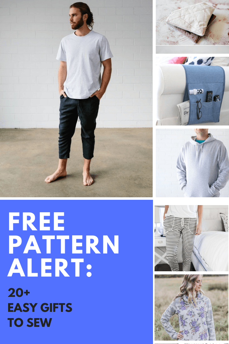 FREE PATTERN ALERT: 20+ EASY GIFTS TO SEW - On the Cutting Floor: Printable pdf sewing patterns and tutorials for women | On the Cutting Floor: Printable pdf sewing patterns and tutorials for women