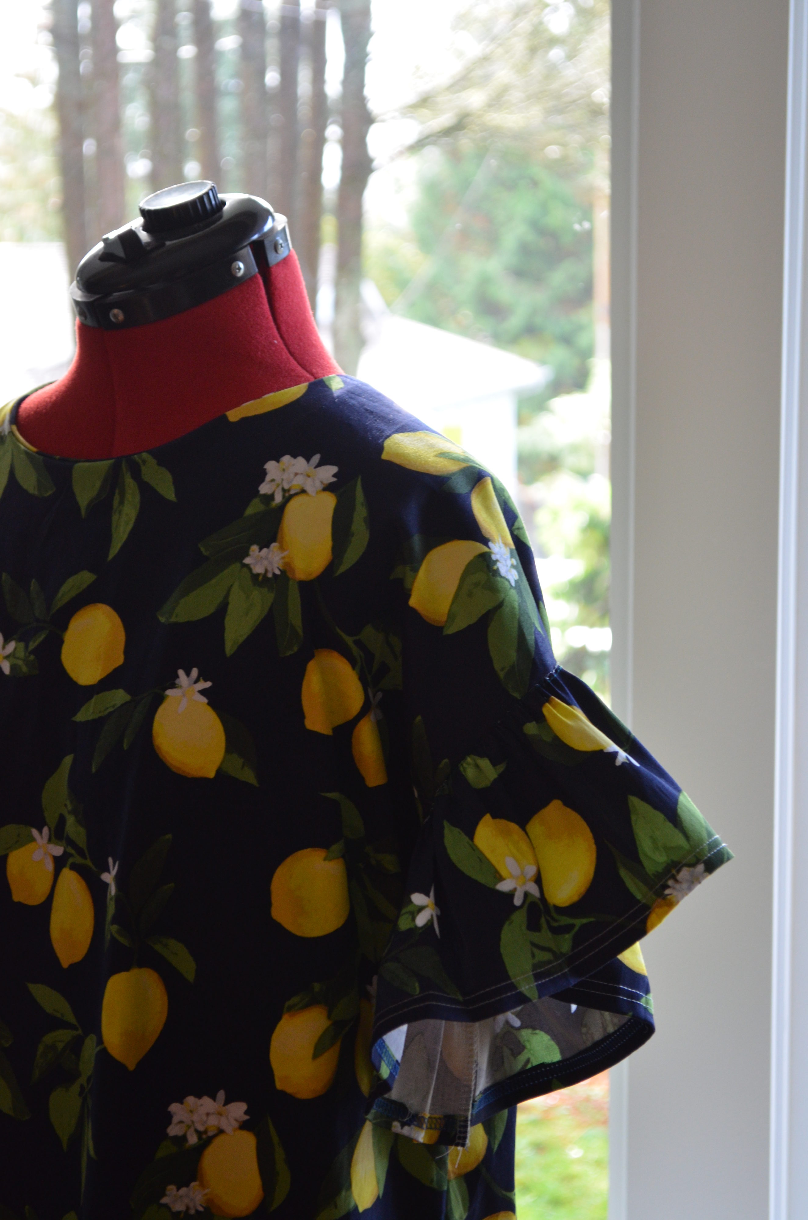 The Aida Top and Dress PDF sewing pattern and tutorial
