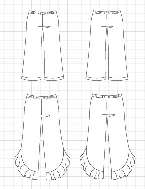 The Lione Pants PDF sewing pattern and sewing tutorial