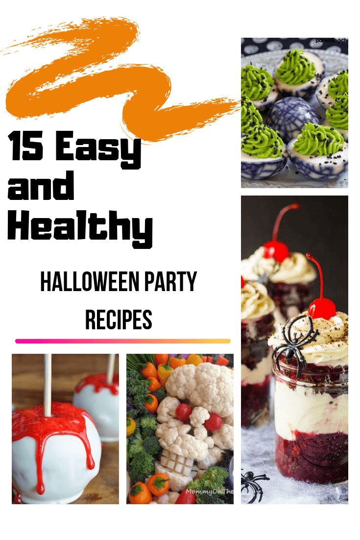 15 Easy and Healthy Halloween Party Recipes