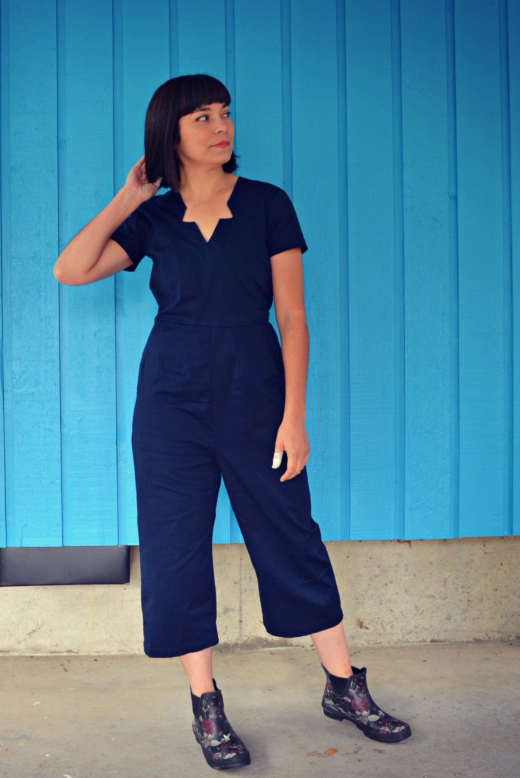 NEW PATTERN FOR SALE: The Serena Jumpsuit, Top and Dress PDF sewing pattern